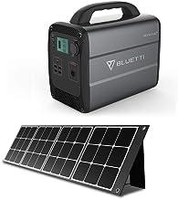 BLUETTI 120W ソーラーパネル 1000WH ポータブル電源 扇風機/車載冷蔵庫/電気毛布などに対応可 防災 LEDライト付き PSE認証済 車中泊/キャンプ/災害用/停電/熱中症対策 USBもDCもACもType-Cも同時出力でき