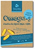 Testa Omega-3 Aceite de Algas cápsulas de 450mg Omega-3 Vegano DHA + EPA - (60 cápsulas)