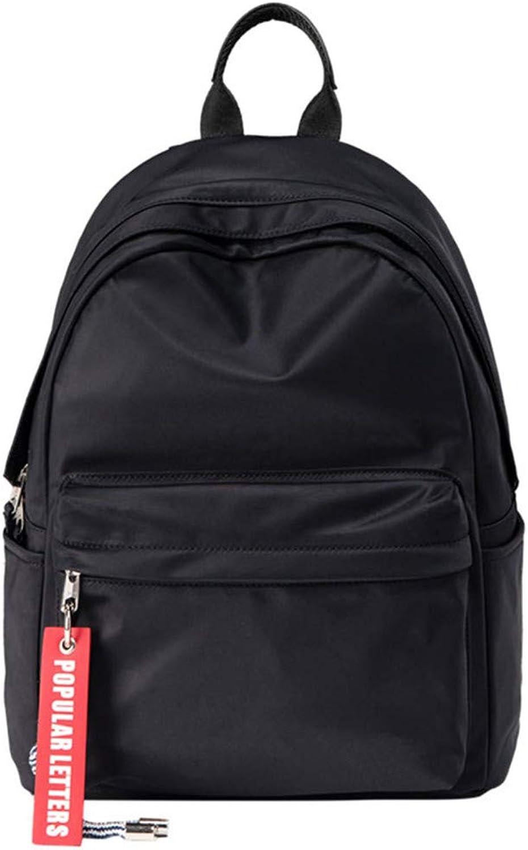 Xyzjia Tasche Rucksack Tasche Handtasche Freizeitrucksack, schwarz
