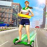 Giochi di Hoverboard per ragazza che consegna la pizza 2020