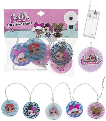 L.O.L Surprise Led String Lights for Toddler/Kids/Teen Girls Room Decoration with Different L.O.L Characters