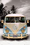Poster 'VW Bulli California Camper', Größe: 61 x 91 cm