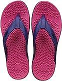 AASh Acupressure Massage Health Slippers Sandals Shoes Reflexology Foot Massager Acupoint Massage Red & Black Women Sizes UK 4 to UK 8 (5 UK Women)