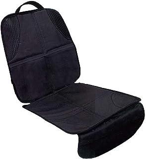YUEKUN hochwertiger Autositzschoner schwarz   Extra dick gepolsterte Kindersitzunterlage   Autositzauflage hervorragend geeignet für Kindersitze