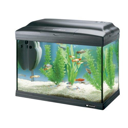 Ferplast 65040017 Cayman 40 Classic Aquarium Noir 41,5 x 21,5 x 34 cm 21 l