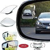 Espejo Retrovisor de Punto Ciego,Espejo de Punto Ciego para Automóvil 360 ° Giratorio, HD Impermeable, para Mejorar la Seguridad en la Conducción