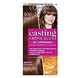 L'Oreal Casting Creme Gloss - Tinte para cabello semipermanente, 600 marrón claro