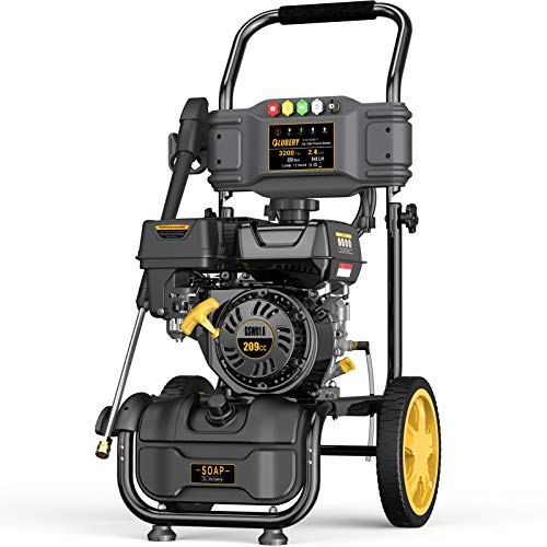 BLUBERY 3200PSI Gas Pressure Washer