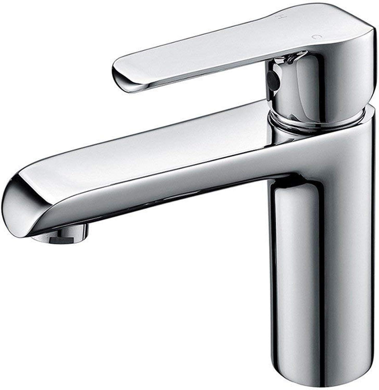 Oudan All Copper Bathtub, Faucet, Hot and Cold Bathroom, Washbasin, Washbasin, Basin, Single Hole Faucet. (color   -, Size   -)