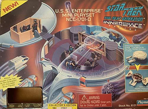 Star Trek the Next Generation Innerspace Playset - U.S.S. Enterprise NCC-1701-D