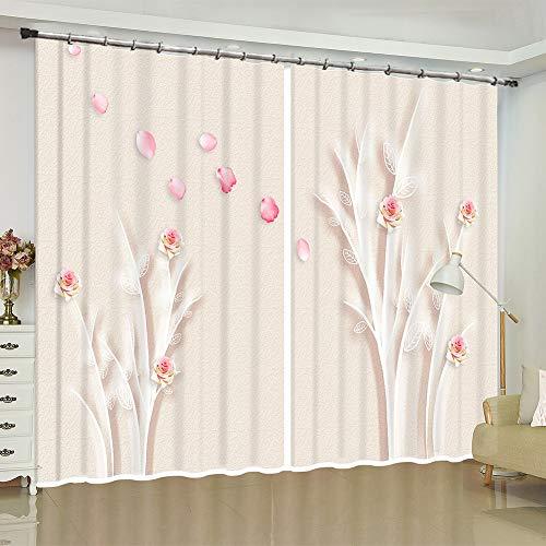 cortinas habitacion ganchos