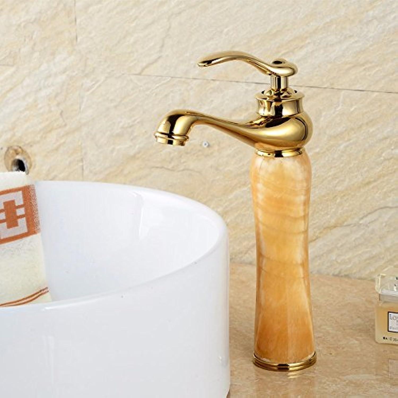 Fy.Zck Wasserhahn Zapfhahn Mischbatterie Armatur Im Europischen Stil Kupfer Wasserhahn Waschtisch Armatur, H