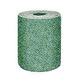 tappetino biodegradabile per semi di erba, tappeto biodegradabile per coltivare erba, prato da giardino, antivento, fertilizzante per prato, giardino, picnic, germinazione, coperta solida