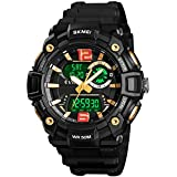 Mens Analog Digital Sports Watches Military...