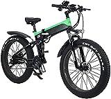 Bicicleta electrica Bicicletas, bicicletas eléctricas plegables para adultos, bicicletas híbridas reclinadas / de carretera, con marco de aleación de aluminio, pantalla LCD, tres MODO MONTAJE, 7 VELOC