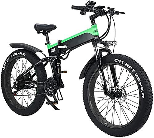 Bicicleta electrica Bicicletas, bicicletas eléctricas plegables para adultos, bicicletas híbridas reclinadas /...