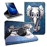 Amlope Hülle für Samsung Galaxy Tab A 10.1 Zoll SM-T580 / T585,360 Grad Rotierend Kunstleder...