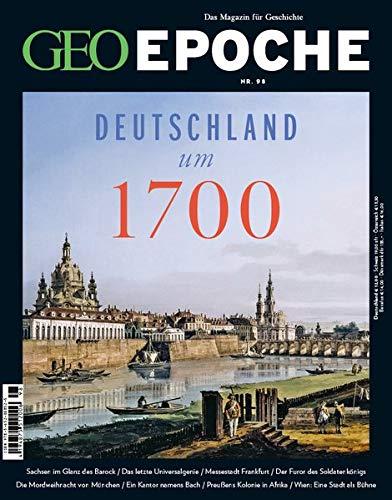 GEO Epoche mit DVD 98/2019 - Deutschland um 1700: DVD: Georg Friedrich Händel – Genie des Barock