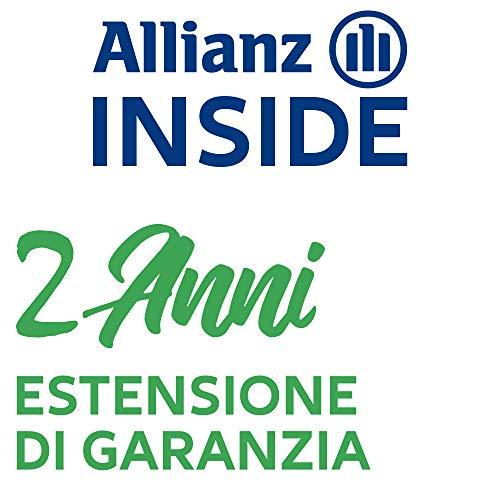 Allianz Inside, Il Valore della Copertura assicurativa Estensione di Garanzia con validità di Due Anni per Elettrodomestico per la Pulizia è compreso tra 150,00€ e 199,99€