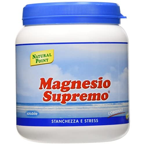 Natural Point Magnesio Supremo Solubile - 300 g, polvere