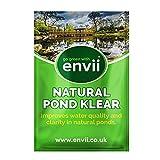 envii Natural Pond Klear – Limpiador Natural Estanques Elimina Agua Verde y Mejora la Salud del Estanque (Trata 25.000 litros)