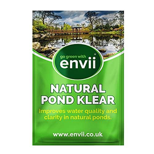 envii Natural Pond Klear – Limpiador Natural Estanques Elimina Agua Verde y Mejora...