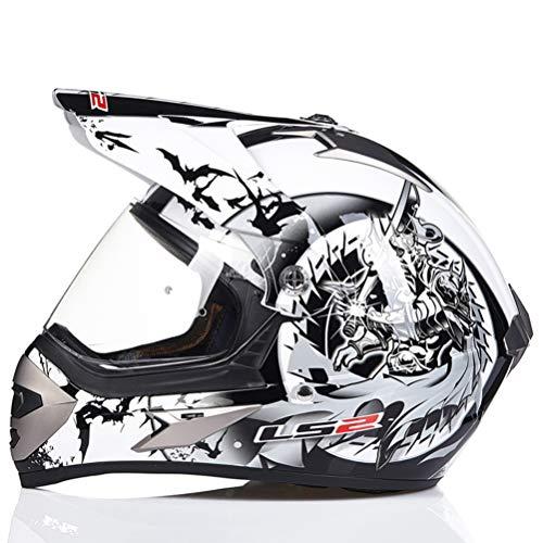 Casco de Motocicleta de Cuatro Ruedas para Adultos Off-Road
