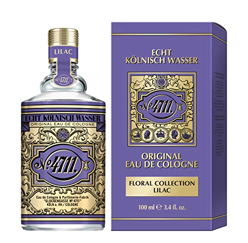 4711 Echt Kölnisch Wasser Floral Collection I FLIEDER I Eau de Cologne Natural Spray 100 ml