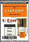 Lápiz de retoque para Ikea LIATORP, color blanco/blanco/blanco – Q-Pen original