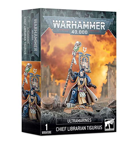 Bibliotecario jefe de Ultramarines Tigurius Warhammer 40.000