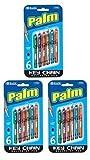3 Pk, Bazic Palm Key Chain Mini Ballpoint Pen, 6 Per Pack (Total of 18 Pens)