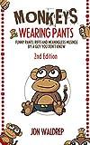 cover art for Monkeys wearing pants by Jon Waldrep