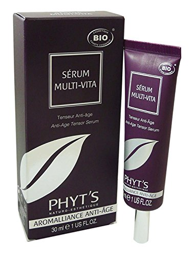 PHYT´S - MULTI VITA - Anti-Age Tensor Serum - Face lifting effect - Lucha contra el envejecimiento del producto - 6 viales de 5 ml
