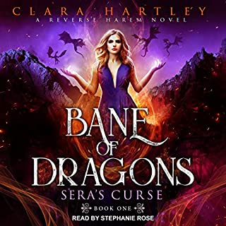 Bane of Dragons audiobook cover art