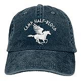 HHJSZJ Camp Half Blood Cowboy Cap Unisex Headgear Baseball Hat Navy