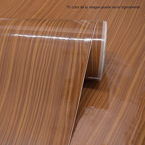 LEEMEX Vinil Adhesivo Tipo Maderas Decoración Muebles O Muros 2.4m2 ENVÍO Gratis (A225 Madera Esmaltada)