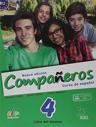 Compañeros. Curso de Español - Volume 4. Nível B1.2 (+ CDs)
