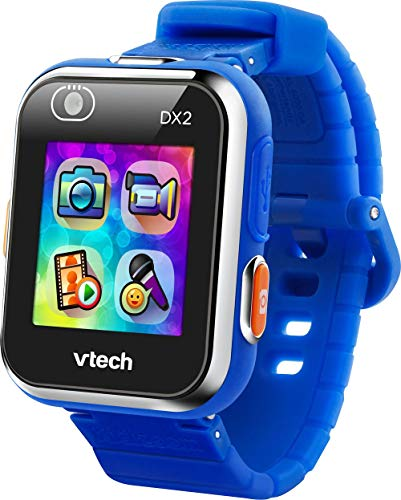 VTech Kidizoom Smart Watch DX2 - Reloj inteligente para niños, color azul (80-193805)