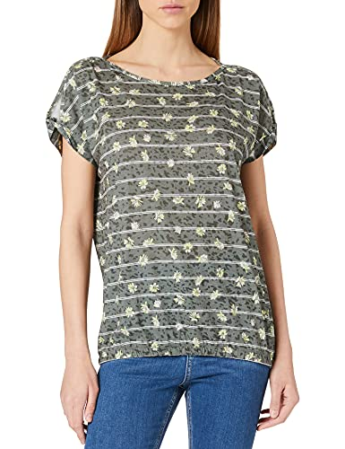 Cecil Damen 316209 T-Shirt, Utility Olive, L