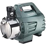 Metabo Hauswasserautomat HWA 3500 Inox (600978000) Karton, Nennaufnahmeleistung: 1100 W, Max. Fördermenge: 3500 l/h, Max. Förderhöhe: 45 m
