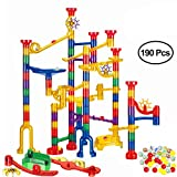 WTOR 190Pcs New and Big Marble Runs Toys Learning Toy Kids Toys Marble