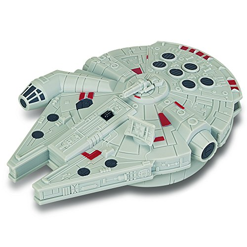Speelgoed 7922 - Roboter Elektronisches Spielzeug Star Wars 7 Millenium Falcon Infrarood 15 cm, Mehrfarbig