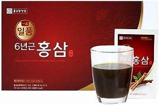 [セール+ギフト付き] ジョングンダン健康 一品 韓国 6年根 紅參 70ml X 30包+無料EMS配送/Korean 6 Years Red Ginseng Health Drink 30 Pouches