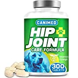 CANIMED Dog Joint Care Supplements | 300 Tablets | With Green Lipped...