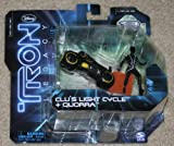 Tron Legacy Series 1 Exclusive Figure 2Pack Clus Light Cycle Quorra