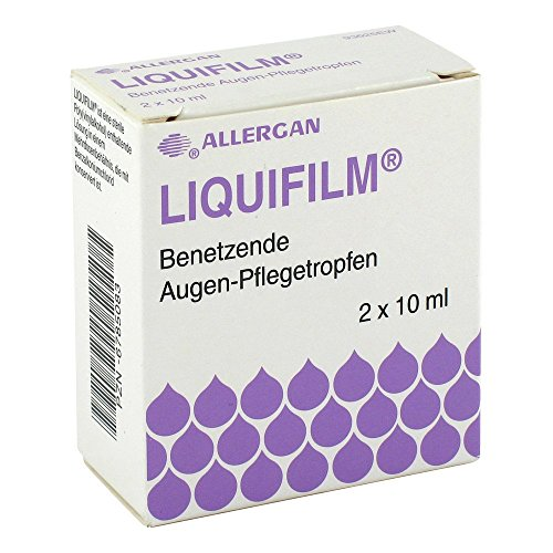 Liquifilm Augen Pflegetropfen, 2X10 ml