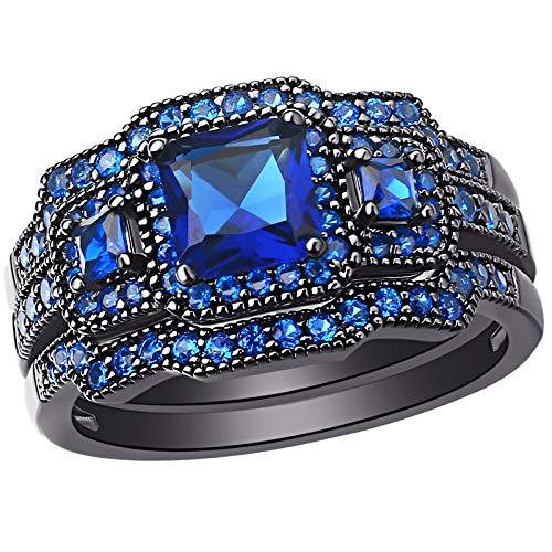 Anillos De Compromiso Oro Blanco Y Diamantes Precios marca SHELOVES JEWELRY