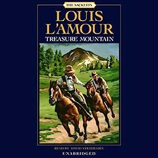 Treasure Mountain audiobook cover art