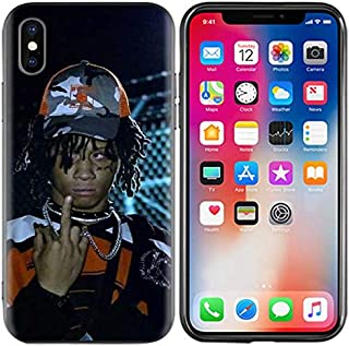 Inspired by Trippie Redd Phone Case Compatible With Iphone 7 XR 6s Plus 6 X 8 9 11 Cases Pro XS Max Clear Iphones Cases TPU- Spike- Vinly- Plus- Women- Women- 33007448530