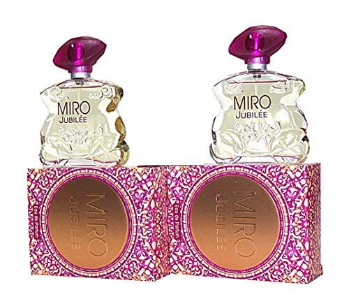 2 x MIRO Jubilée/JUBILEE Eau de Parfum Spray 75 ml (150 ml)